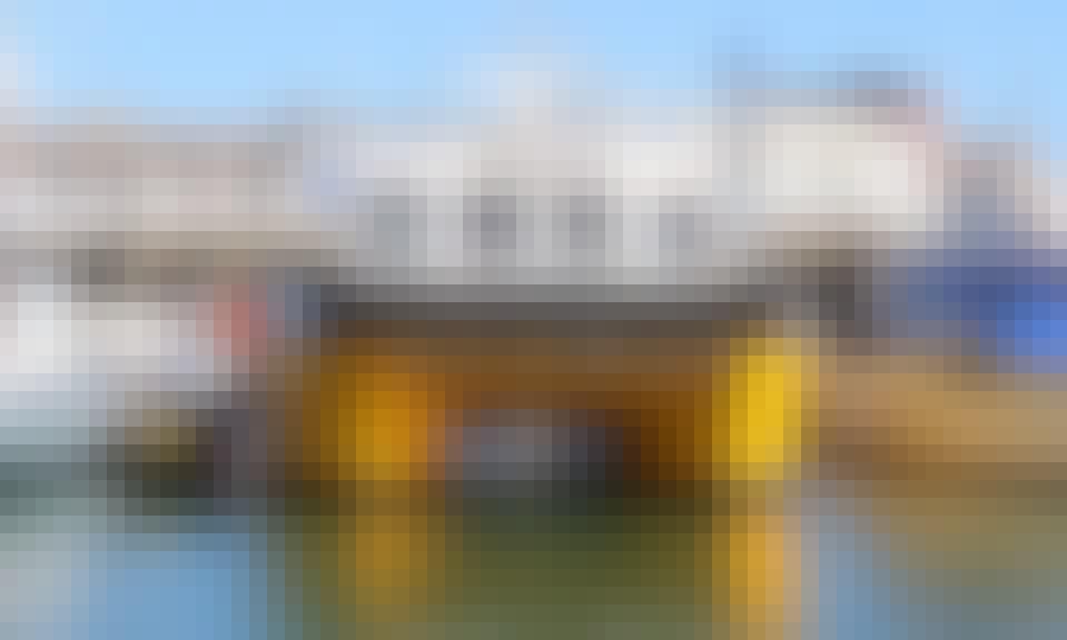 "Enjoy Fishing in Lowestoft, England on ""Pioneer"" Power Catamaran"