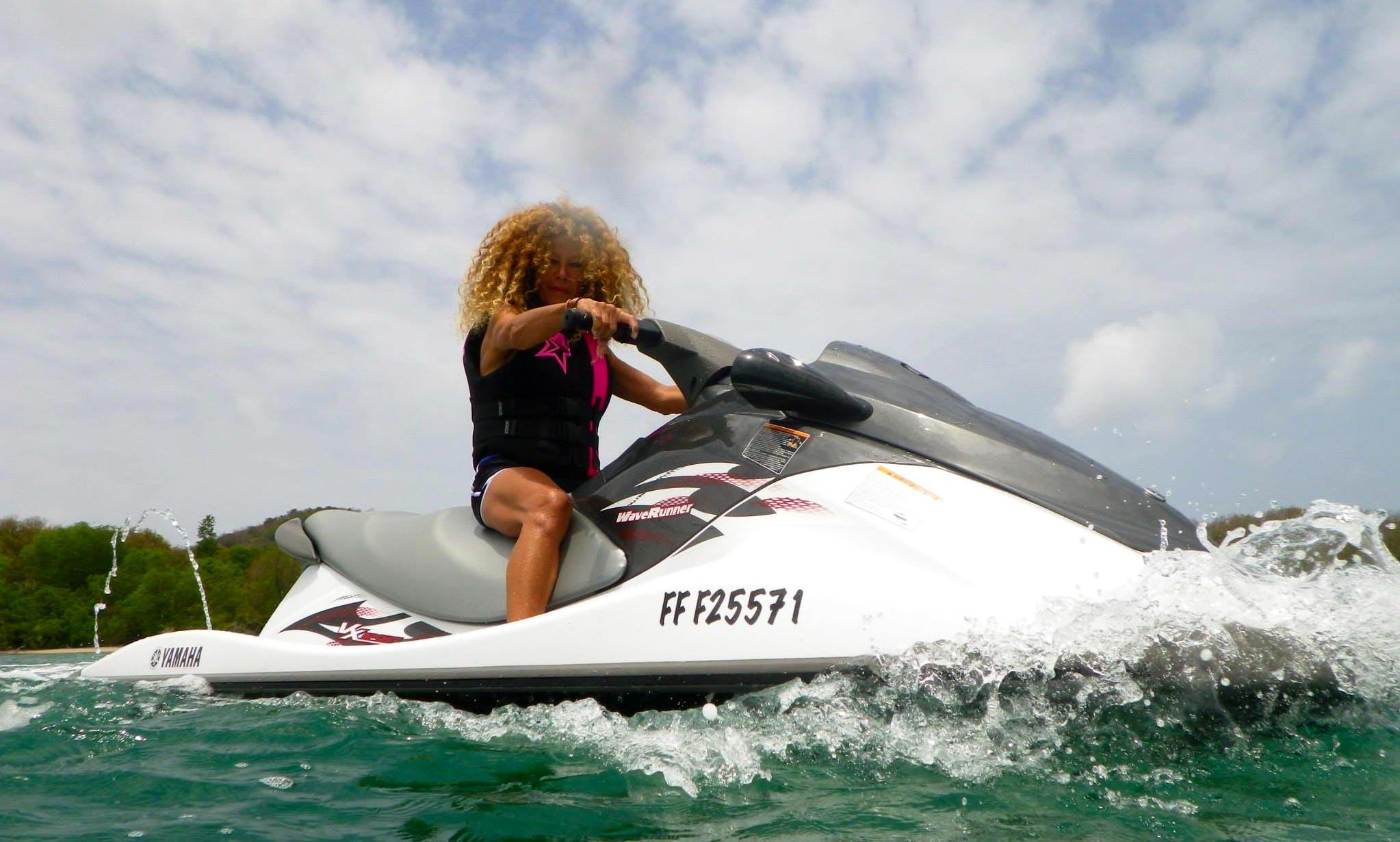 Jet Ski Rentals on Yamaha VX 110 CH in Le Marin