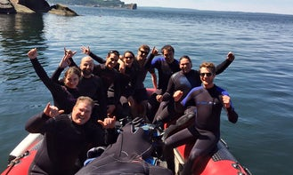 Learn to Scuba Dive with Steven in Percé, Canada
