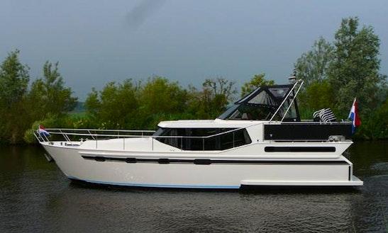 Explore Flevoland, Netherlands By 40' Motor Yacht