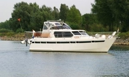 Explore Flevolands, Netherlands On 39' Motor Yacht