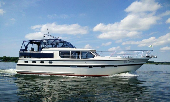 Explore Flevolands, Netherlands On 47' Motor Yacht
