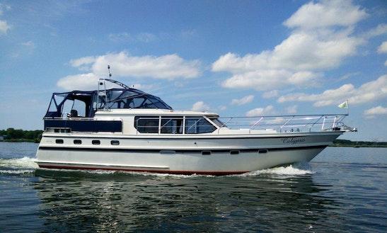 Explore Flevolands, Netherlands On 47' Motor Yacht