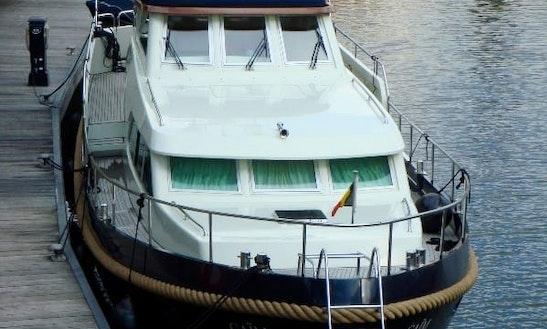Explore Flevolands, Netherlands On 49' Motor Yacht