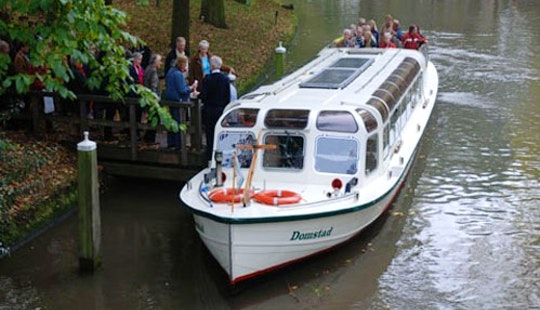 Enjoy Utrecht, Netherlands By Domstad Canal Boat