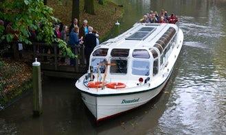 Enjoy Utrecht, Netherlands by Domstad Canal Boat