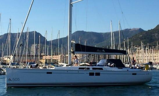 Cruising Monohull For Charter In Tortola From 4250 $ Per Week