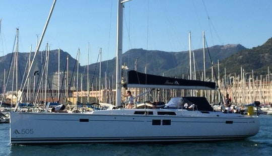 Cruising Monohull For Charter In Tortola From 4250 $ Per Week