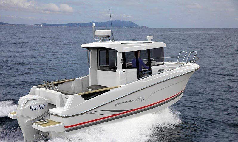Beneteau Barracuda 7 - Sport Fisher Charter in Oakland for up to 6 Guests