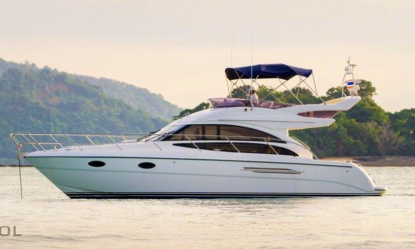 Explore Phuket, Thailand on 42' Motor Yacht