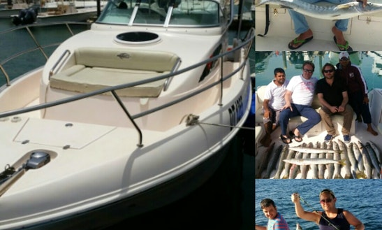 Enjoy Fishing On 34' Sports Fishersman Yacht In Dubai, Uae