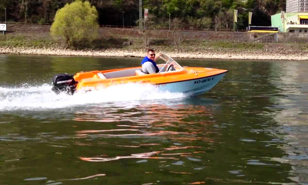 Self Drive Motorboat Hire in Koblenz, Germany for 4 Pax