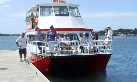 Take In Jervis Bay / Vincentia Australia By Way Of A Passenger Boat!