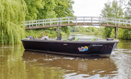 Enjoy Breda, Netherlands On Self-drive Canal Boat