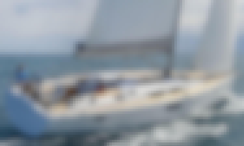 Sailing Charter on Hanse 505 Yacht in Cogolin