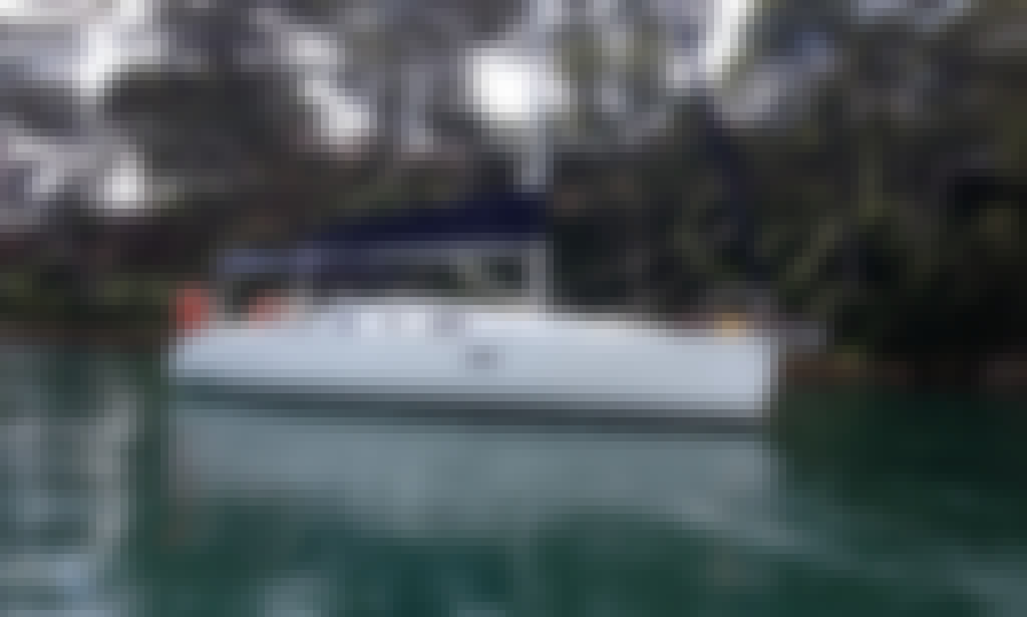 Luxury Day Cruises on Beneteau Oceanis Yachts on Pittwater - moored at Palm Beach