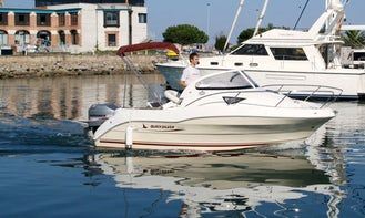 See Santander, Spain on 18' Cuddy Cabin Boat