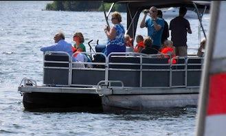 Pontoon Boat Hire in Zeewolde