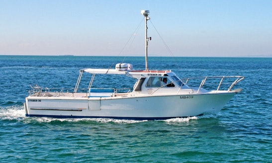 Enjoy 36' Cuddy Cabin Fishing Charters In Sorrento, Victoria