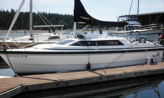 26' Cruising Monohull Rental In Gig Harbor, Wa