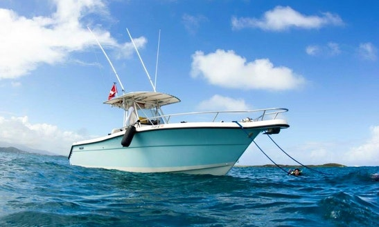 Enjoy 28 Ft Center Console Charter In Fajardo, Puerto Rico
