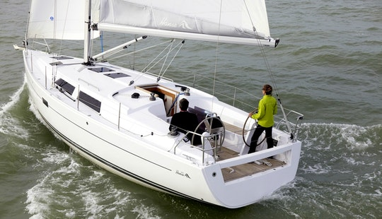 Unforgettable Sail On Hanse 375 Sailboat In Cogolin