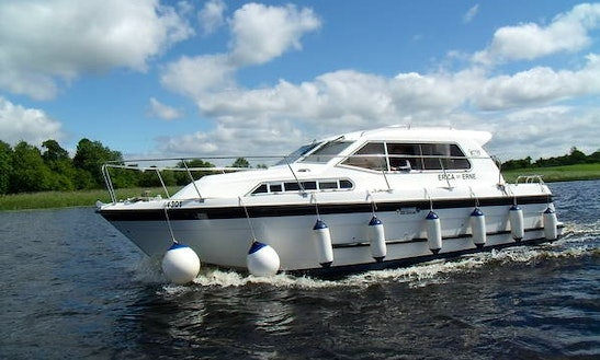 Explore The River Erne On Luxury Motor Cruiser