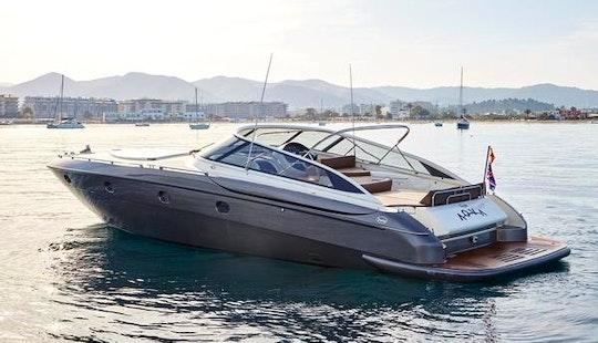 Exlpore Ibiza, Spain By 54' Power Mega Yacht