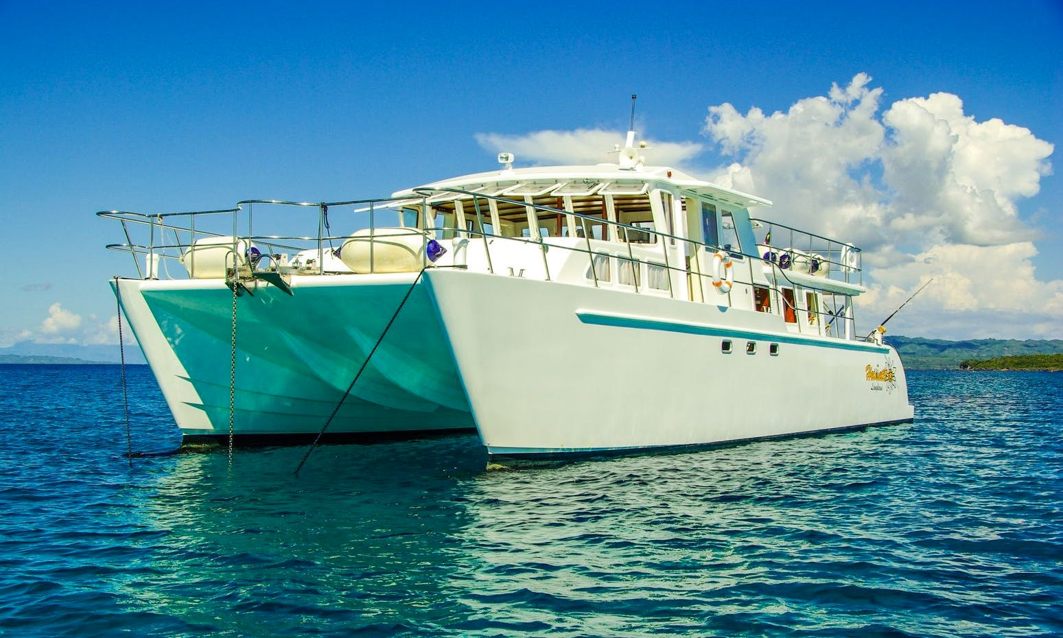 Power Catamaran charter all over the Philippines