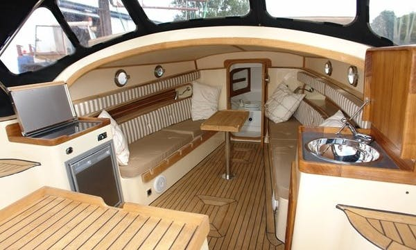Hire 29' Canal Boat in Friesland, Netherlands