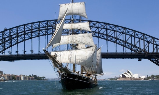 Experience Sydney Harbour On Tall Ship