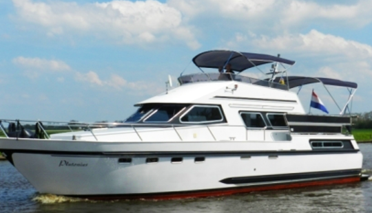 Charter 44' Plutonius Motor Yacht In Friesland, Netherlands