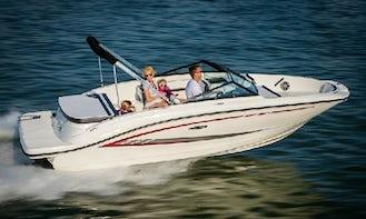 Enjoy in Barbat na Rabu on Sea Ray 19 SPX Deck Boat