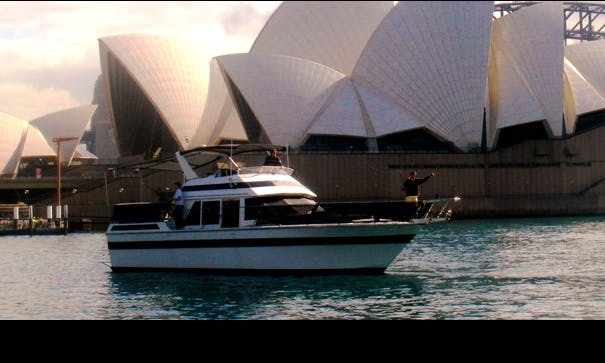 "Cruise Sydney Harbour on 47ft ""Day by Day"" Motor Cruiser"