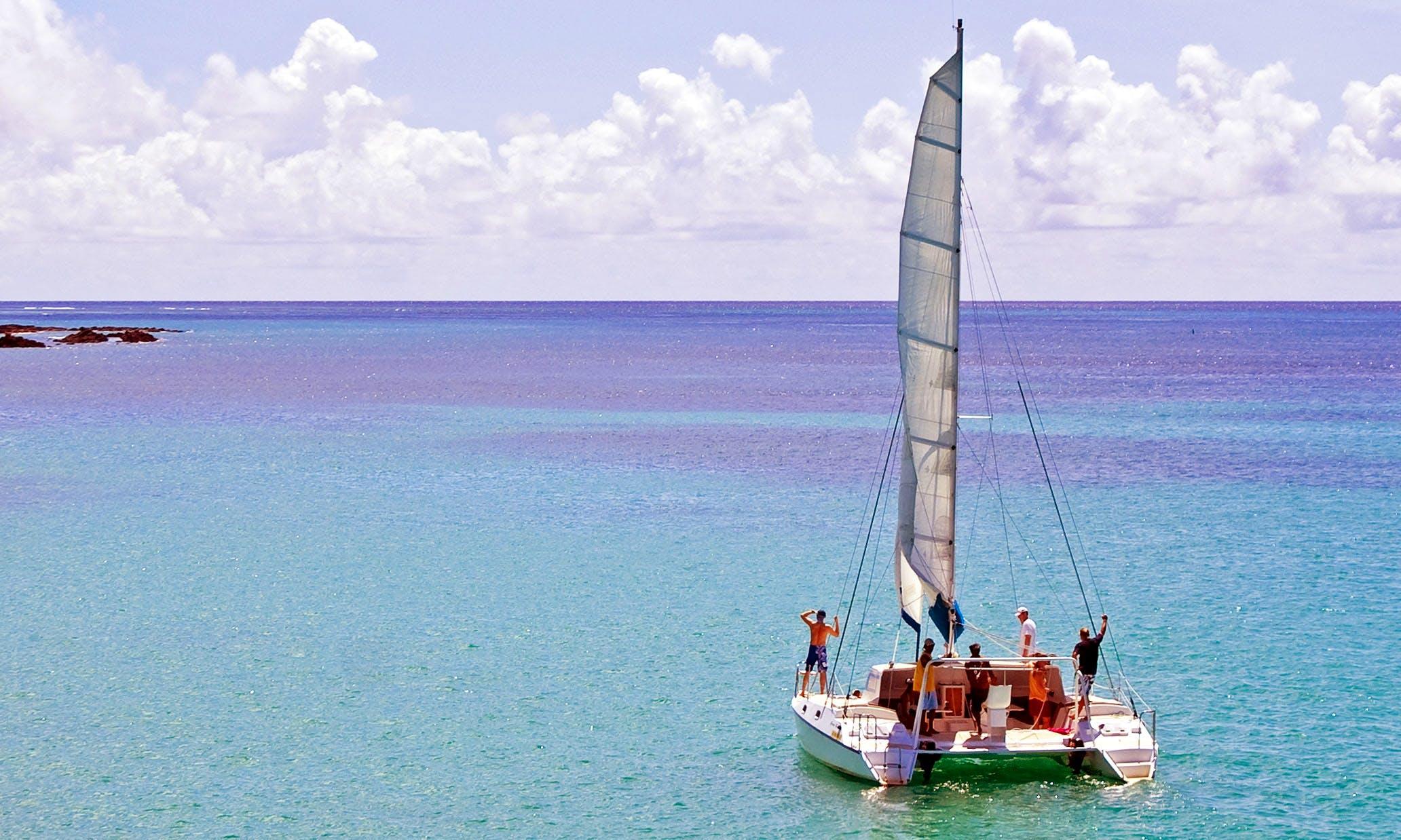 Cruising Catamaran Rental in Cap Malheureux