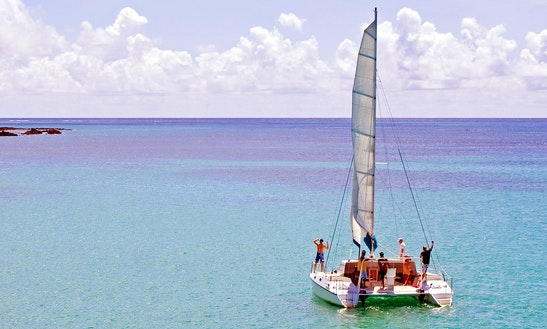 Cruising Catamaran Rental In Cap Malheureux