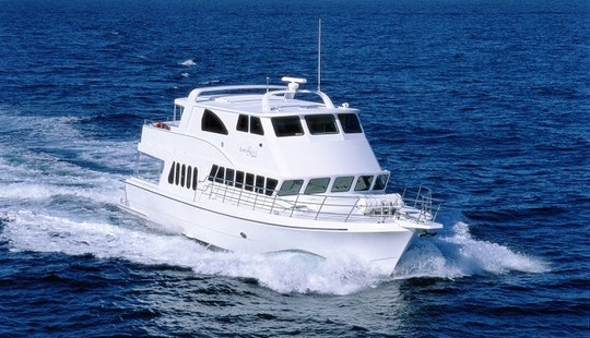 Experience South East Queensland By 76' Power Mega Yacht
