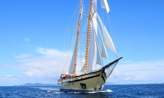 Cruise The Indonesian Archipelago On 223ft