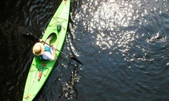 Enjoy Kayaking On Quinnipiac River In North Haven