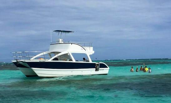 Charter 34' Funcat Power Catamaran In Punta Cana, Dominican Republic