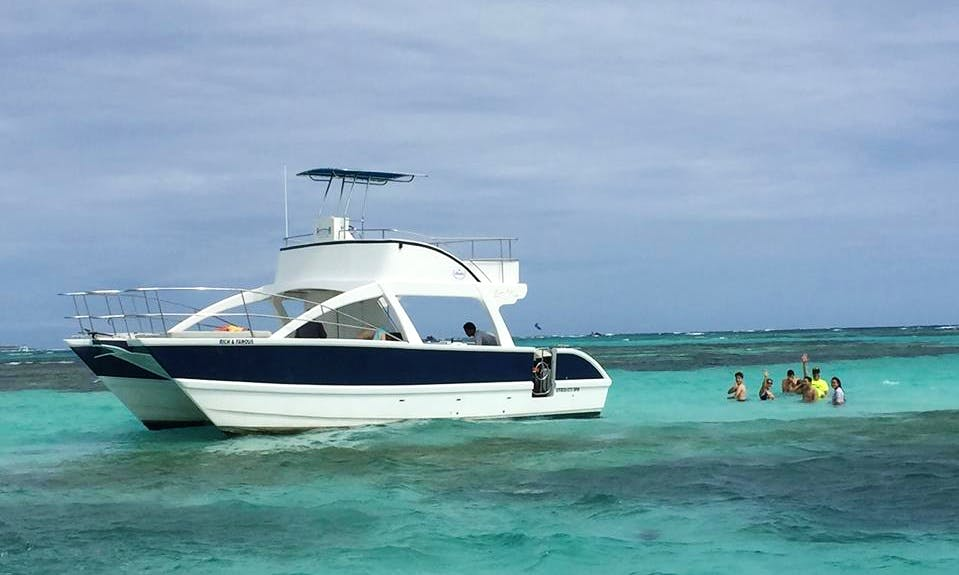 Charter 34' FunCat Power Catamaran In Punta Cana, Dominican Republic