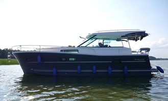 Explore Wilkasy, Poland on 34' Motor Yacht