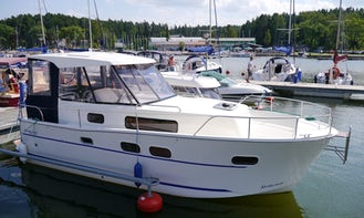 Explore Wilkasy, Poland on 27' Motor Yacht