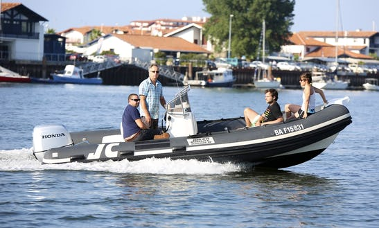 Enjoy Hendaye, France On Joker Boat Clubman 19 Powerboat