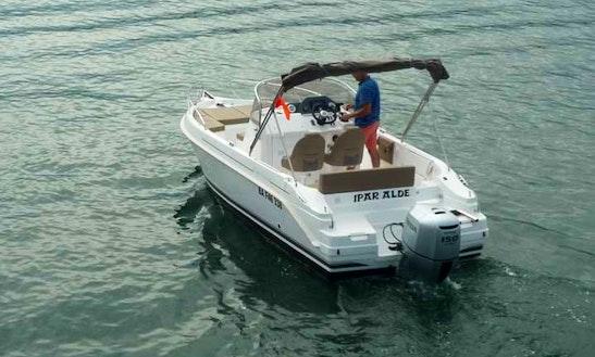 Enjoy Hendaye, Basque Country On Cap Ferret 672 Powerboat