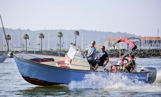 Rhea 23 Open Powerboat Rental In Hendaye, Basque Country