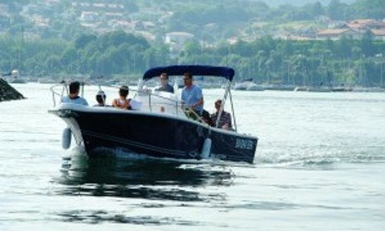 Enjoy The White Shark 225 Powerboat In Hendaye, Basque Country