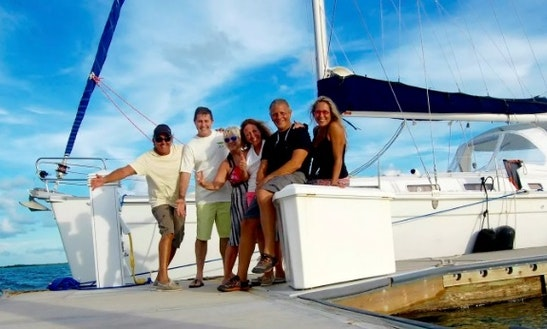 Charter 43' Cruising Monohull Beneteau Cyclades In Fort Lauderdale, Florida