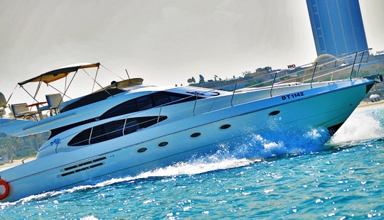 Cruise Around Dubai On This Sleek Motor Yacht