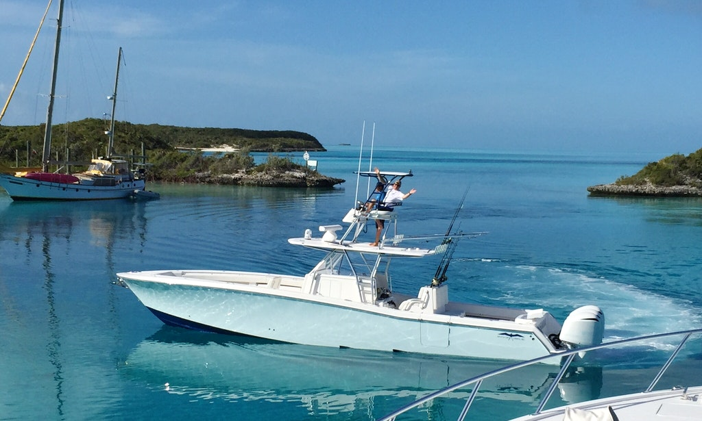 nassau fishing charter on casiana invincible 42 open